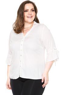 0626268dd7 Camisa Plus Size Reta feminina
