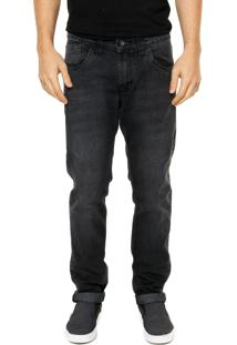 Calça Jeans Polo Club Fashion Cinza