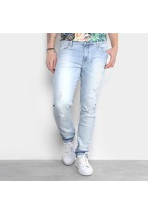 Calça Jeans Skinny Triton Gilson Clara Masculina - Masculino-Azul Claro