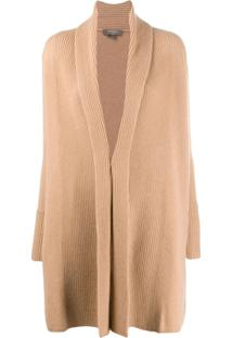 N.Peal Vertical Placket Cardigan - Neutro