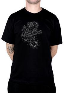 Camiseta Bleed American Zombie Preto