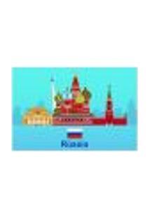 Painel Adesivo De Parede - Rússia - Mundo - 1358Pnp