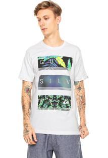Camiseta Quiksilver Hyperas Branca