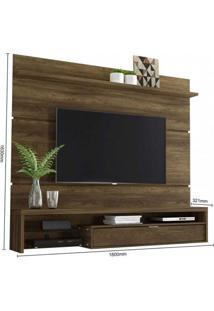 Painel Home Para Tv Até 65 Polegadas 1 Porta Basculante Persa Colibri Móveis Canela Rústico