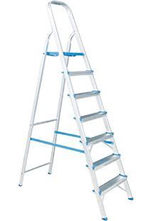 Escada Residencial De Alumínio Alumasa 7 Degraus