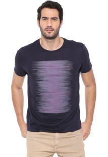 Camiseta Aramis Ruídos Azul-Marinho