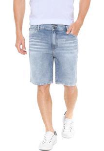 Bermuda Jeans Ellus Reta Azul