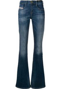 Diesel Calça Jeans Bootcut - Azul