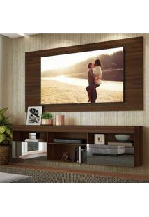 Painel Tv Atã© 65 Polegadas Com Rack Suspenso E Espelho Flã³Rida Multimã³Veis Duna - Incolor - Dafiti