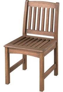 Cadeira Recanto Baixa Cor Stain Nogueira - 15648 - Sun House