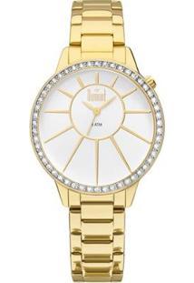 Relógio Feminino Dumont Splèndore Du2035Lvh/4B Du2035Lvh/4B - Feminino-Dourado