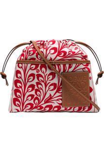 Loewe Multicoloured Printed Canvas Pouch Bag - Vermelho