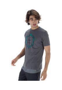 Camiseta Fatal Estampada 22152 - Masculina - Cinza Escuro