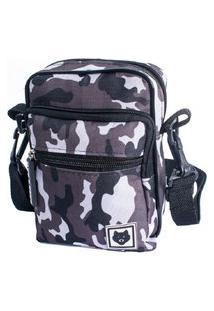 Shoulder Bag Bezz Mini Bolsa Tira Colo Necessaire Pochete Unisexx Camuflado
