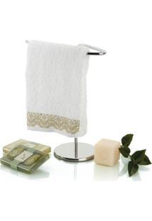 Porta-Toalhas Aquaset Pia Banheiro Com Base Aço Inox