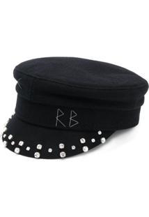 Ruslan Baginskiy Baker Boy Hat - Preto