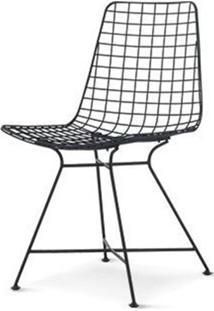 Cadeira Laos Preto Fosco 85 Cm (Alt) - 47507 - Sun House