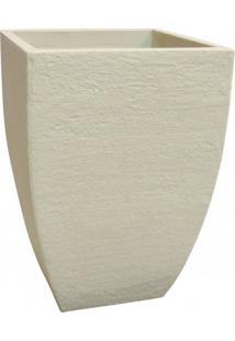 Vaso Quadrado Moderno 30 Japi Cimento