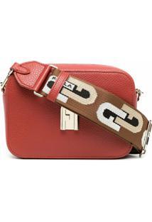 Furla Bolsa Estruturada Sleek - Vermelho