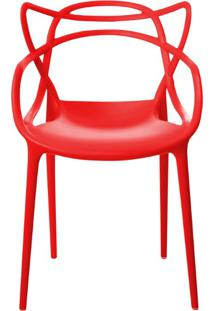 Cadeira Allegra Vermelha Rivatti Móveis