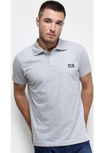 Camisa Polo Fatal Tag Masculina - Masculino-Cinza Claro