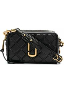 Marc Jacobs Softshot 21 Crossbody Bag - Preto