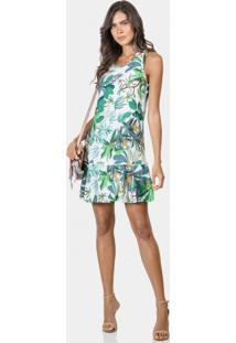 8b23c5b17e -50% Vestido Estampado Em Tecido Ananas - Lez A Lez