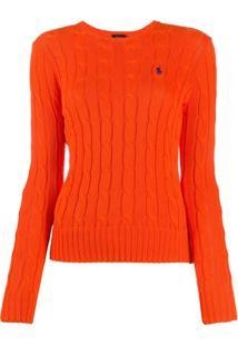 Polo Ralph Lauren Suéter De Tricô - Laranja