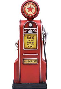 Porta Moeda Bomba De Gasolina 35.5Cm Estilo Retrô - Vintage