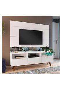 Estante Home Para Tv 50 Pol Estilare Dance 3 Portas Branco