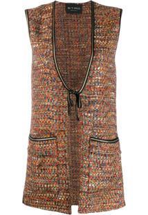 Etro Colete De Tweed - Marrom