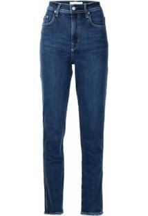 Nobody Denim Calça Jeans Reta Frankie - Azul