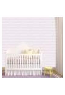 Papel De Parede Adesivo - Listras Baby Rosa - 309Ppb
