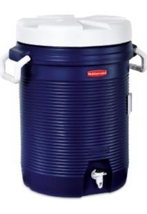 Garrafa Térmica Rubbermaid 19 Litros Com Alças Laterais Azul