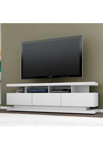 Rack Para Tv Até 70 Polegadas 3 Gavetas Vivare Branco Acetinado - Móveis Germai