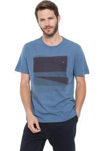 Camiseta Aramis Block Dots Azul
