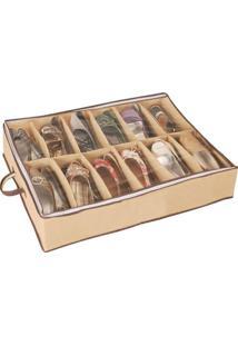 Sapateira Flexível 12 Pares Organizador Calçado Porta Sapatos - Dl8 9505