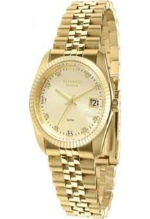 Relógio Euro Feminino Eu2035Xzd/3K - Unissex-Dourado