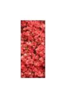 Adesivo Decorativo De Porta - Rosas - Flores - 424Cnpt Auto Colante
