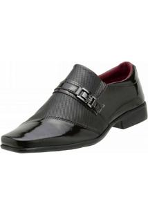 Sapato Bbt Footwear Malta Social Preto. - Masculino