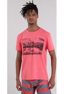 Camiseta Coqueiro Coral