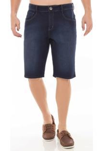 Bermuda Jeans Middle Denúncia Masculina - Masculino