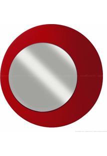 Espelho Decorativo 906 100% Mdf Vermelho - Primai Móveis
