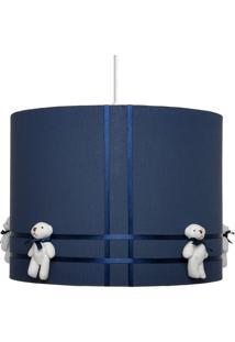 Pendente Carambola Ursinho Bernardo Azul