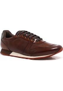 Sapatênis Zariff Shoes Couro