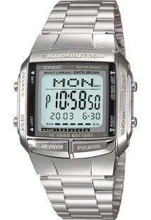 aa5f2f4f70b ... Relógio Casio Vintage Db-360-1Adf - Feminino-Prata