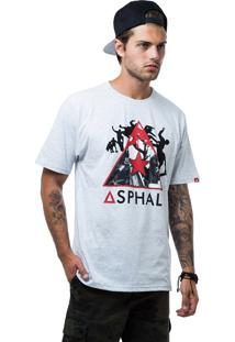 Camiseta Asphalt Delta Trick Preto/Mescla