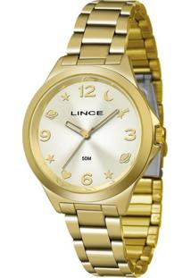 Kit Relógio Feminino Lince Lrgj089L-Ki23C2Kx Analógico 5Atm