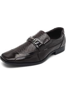 Sapato Broken Rules Bridão Marrom