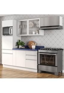 Cozinha Compacta Bbb Ii 7 Pt 5 Gv Branca E Azul